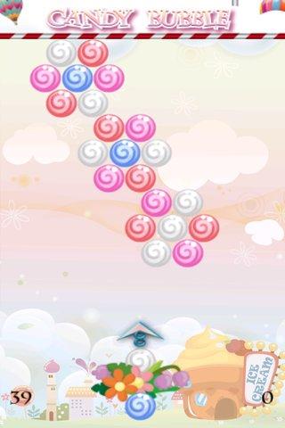 糖果泡泡龙是唯一的一款具有解谜模式和街机模式的泡泡龙