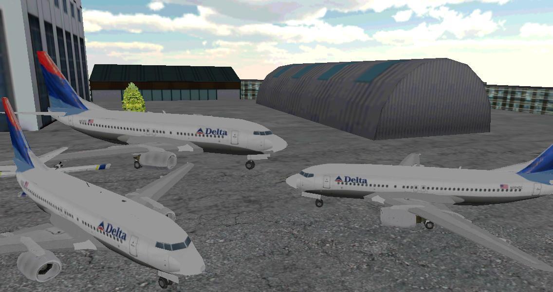 机场3D飞机停泊截图