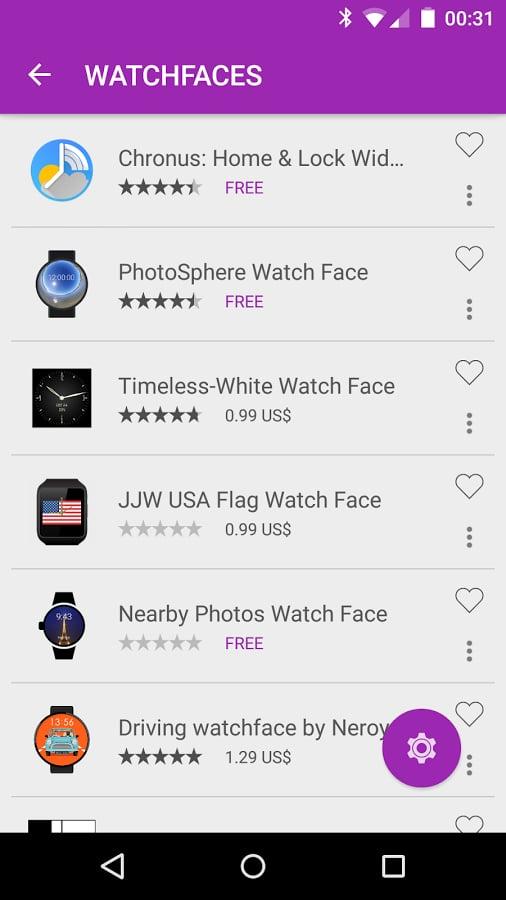 Wear Store for Wear Apps截图