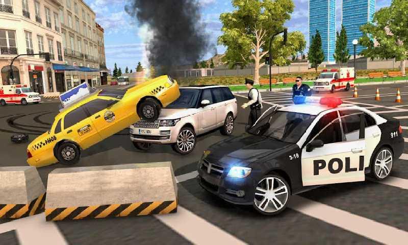 警察模拟器:警车追捕截图