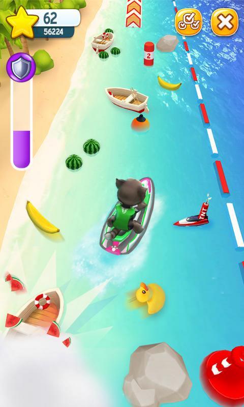 汤姆猫的摩托艇截图