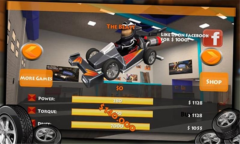 卡丁车漂移赛车3D