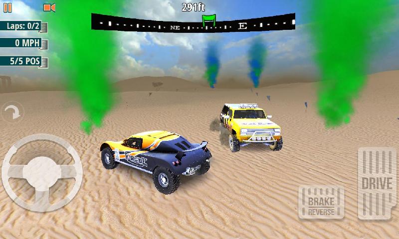 越野沙丘拉力赛车截图