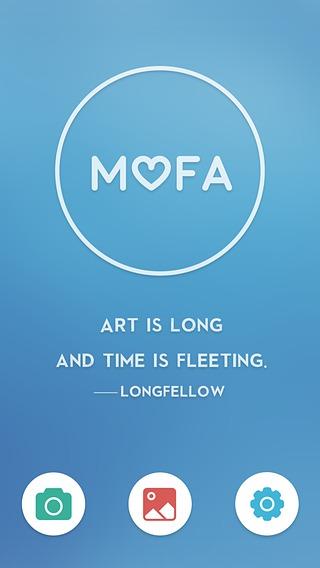 Mofa艺术截图