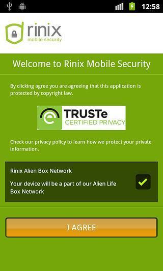 Rinix Antivirus 2014截图