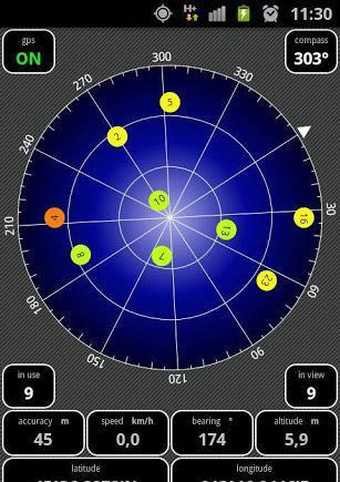 AndroiTS GPS Test Pro截图