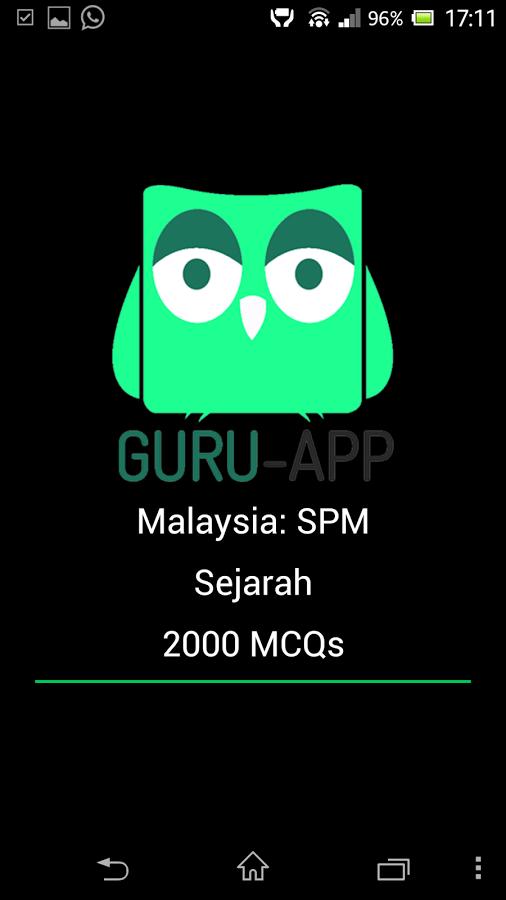 SPM Sejarah- Guru-App截图
