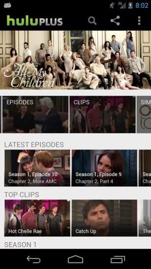 Hulu截图