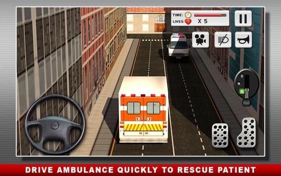 救护车当值 无限金币版截图