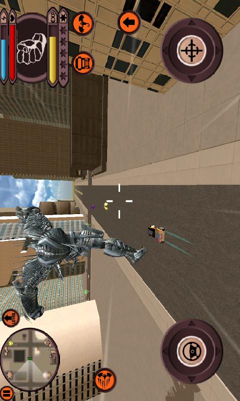 我的龙机器人世界截图