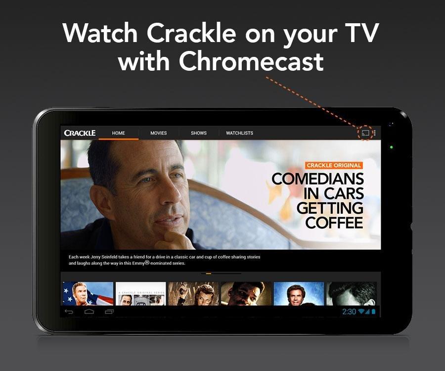 Crackle电影电视截图