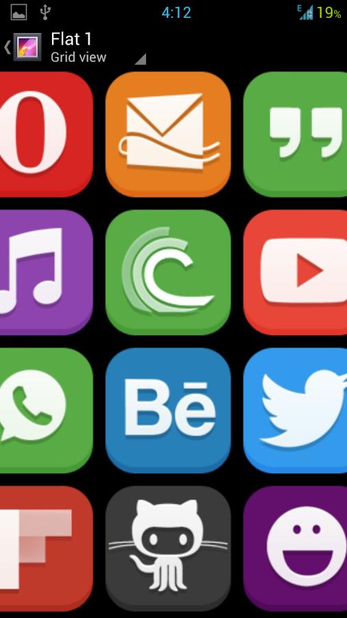 Flat Icon图标包