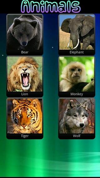 儿童动物的声音截图