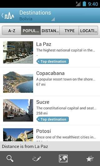 玻利维亚旅游指南截图