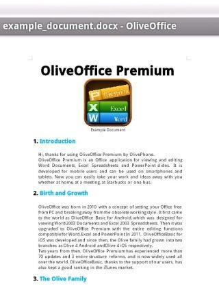 Olive办公套件(高级版)截图