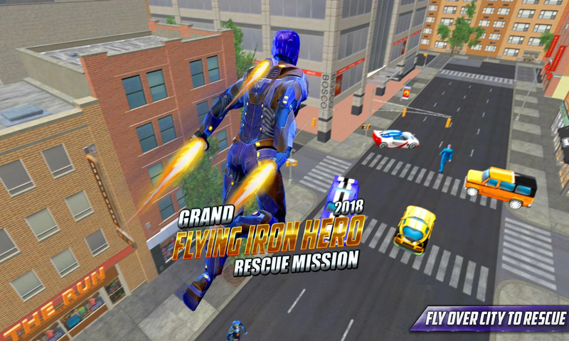 钢铁侠:城市保卫截图