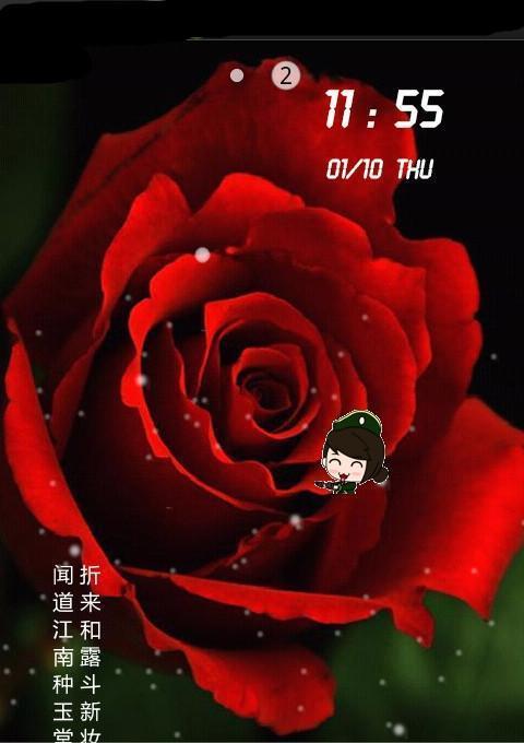 浪漫玫瑰动态壁纸锁屏图片