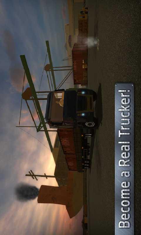 欧洲卡车司机截图