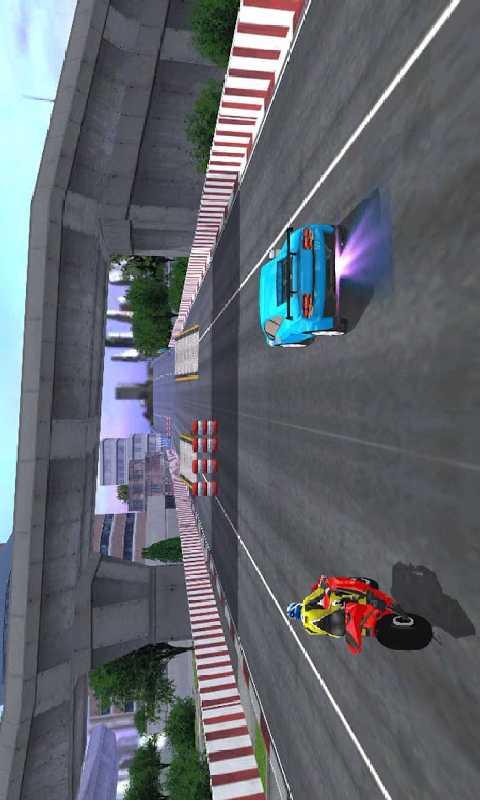 汽车VS摩托车截图