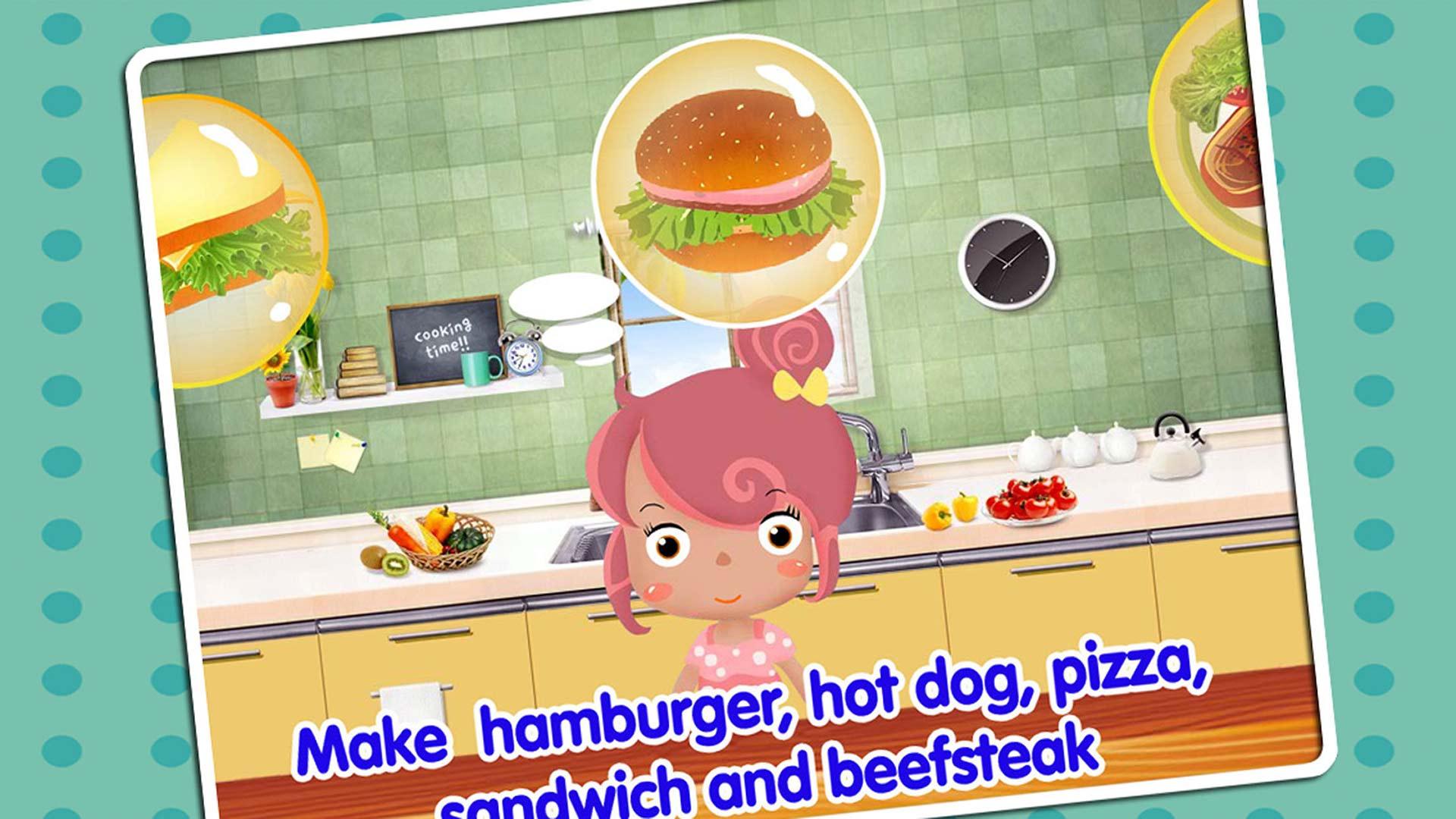 学做饭儿童烹饪游戏截图