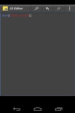 java脚本编辑器