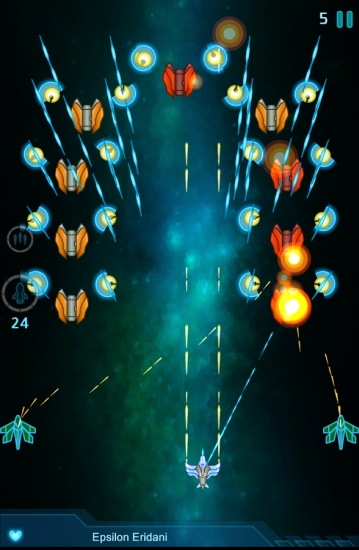 银河战机 无限金币版截图