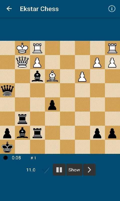 Ekstar国际象棋截图