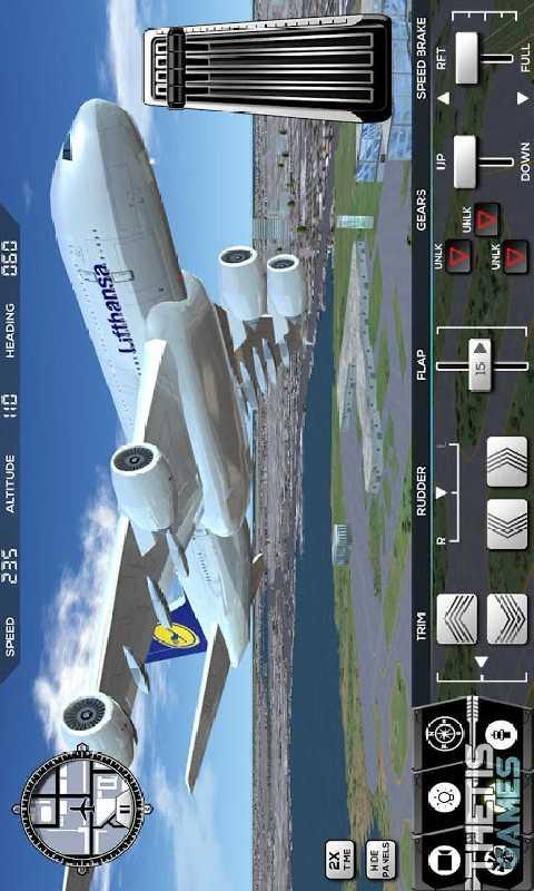 飞行模拟驾驶2017截图