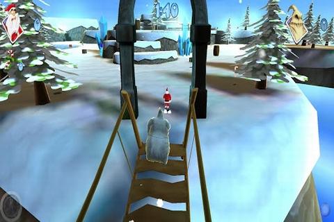 3D圣诞老人跑酷