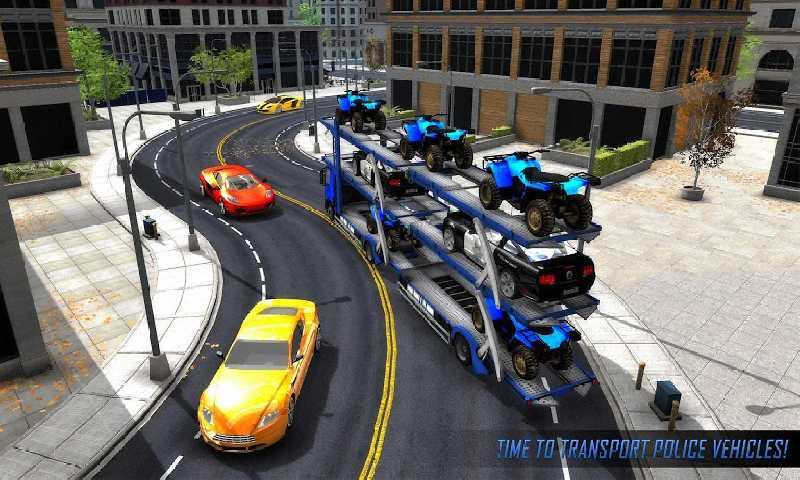 美国警察运输游戏截图
