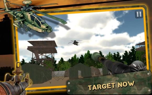 3D直升机空袭截图