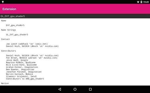 OpenGL测试截图