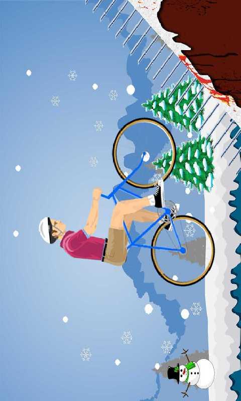 疯狂山地自行车截图