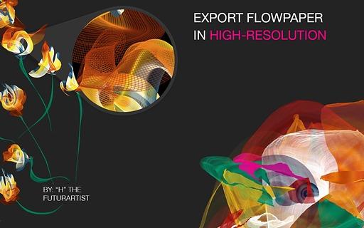 Flowpaper流线截图