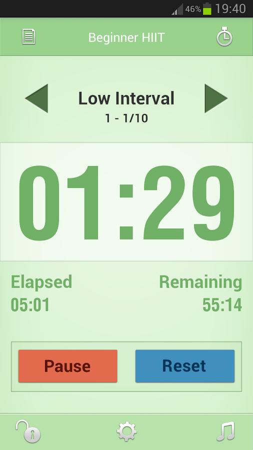 Interval Timer截图