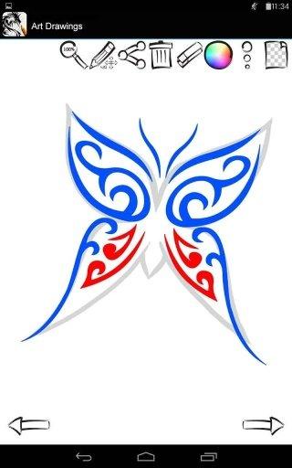 惊人的纹身风格》是结合了所有绘画教程,提供学习如何绘制蝎子,蝴蝶