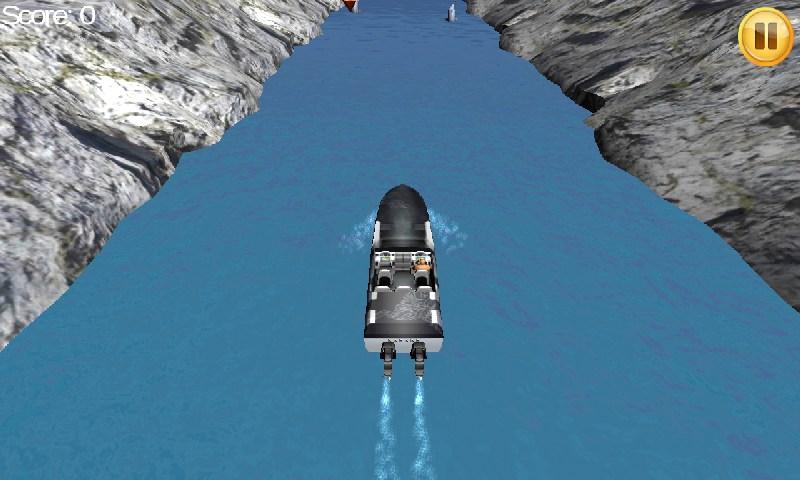 摩托艇河流竞赛3D