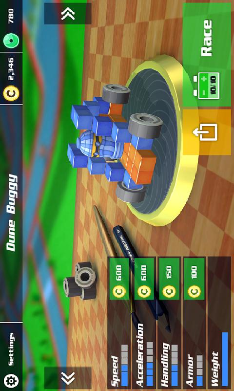 方块赛车截图