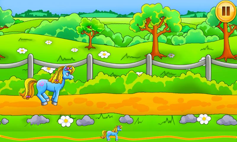 小马逃跑截图