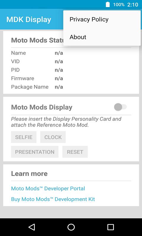 MDK显示屏示例