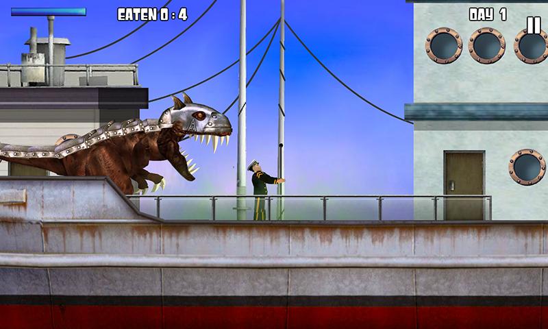 霸王龙VS食人鲨截图
