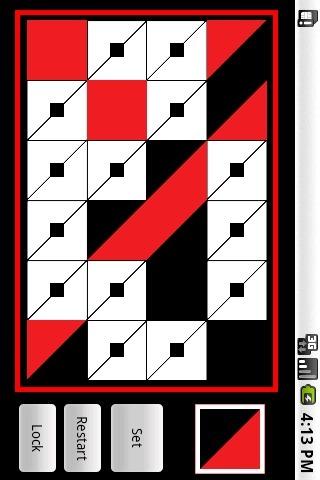 1鳟鱼,1是通过触摸选择的黑色正方形点即在鳟鱼, 当您按下设置按钮将图片