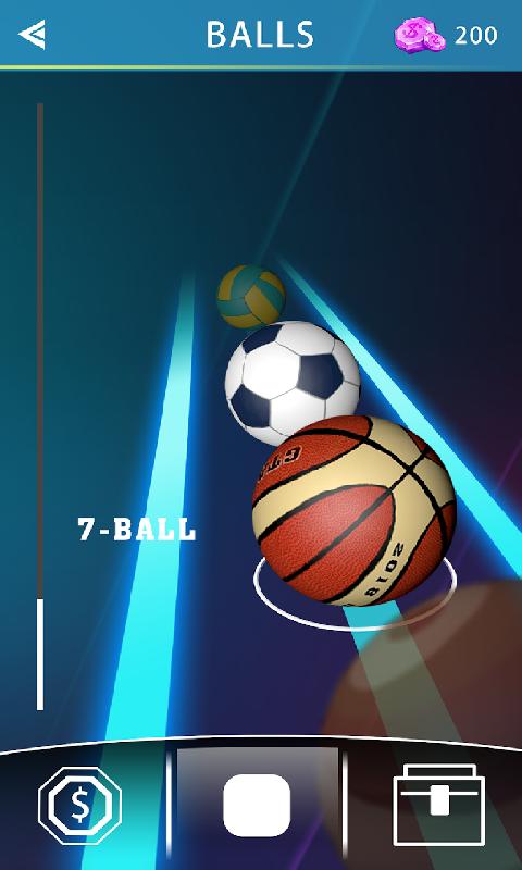 滚动的球球截图
