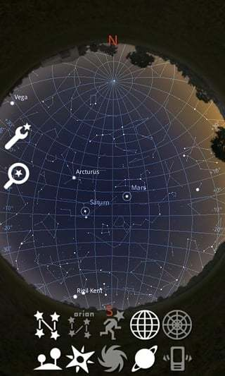 Stellarium 天文截图