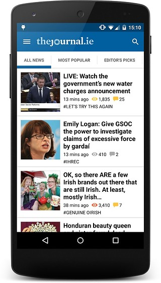 The Journal.ie News截图