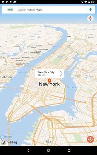 Nutiteq Maps截图
