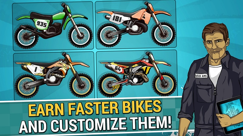 疯狂摩托车技2截图