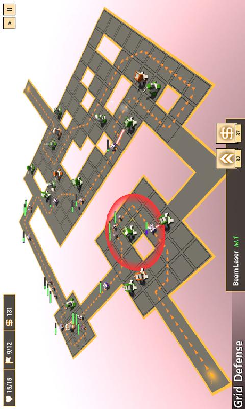防御阵型截图