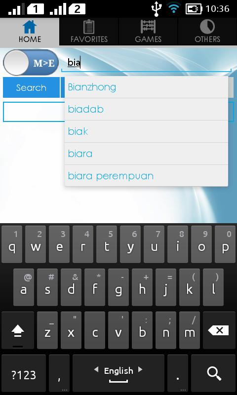 Malay Dictionary截图