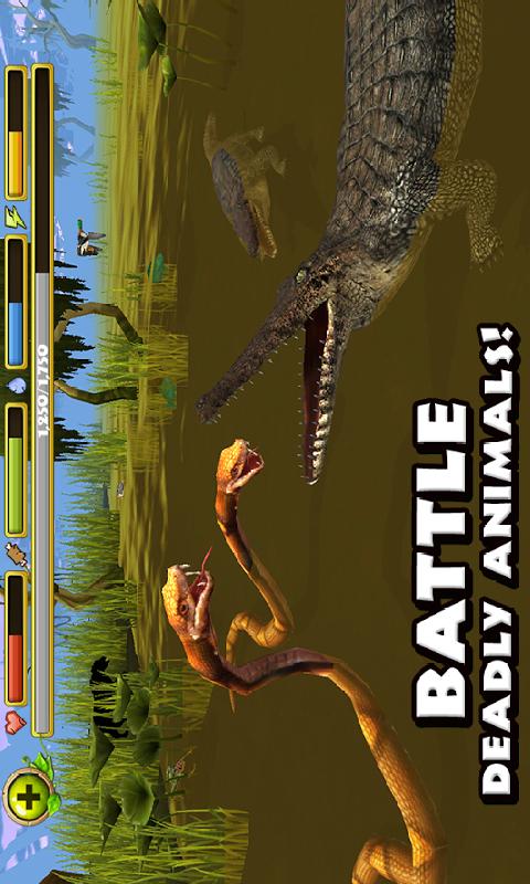 鳄鱼模拟截图